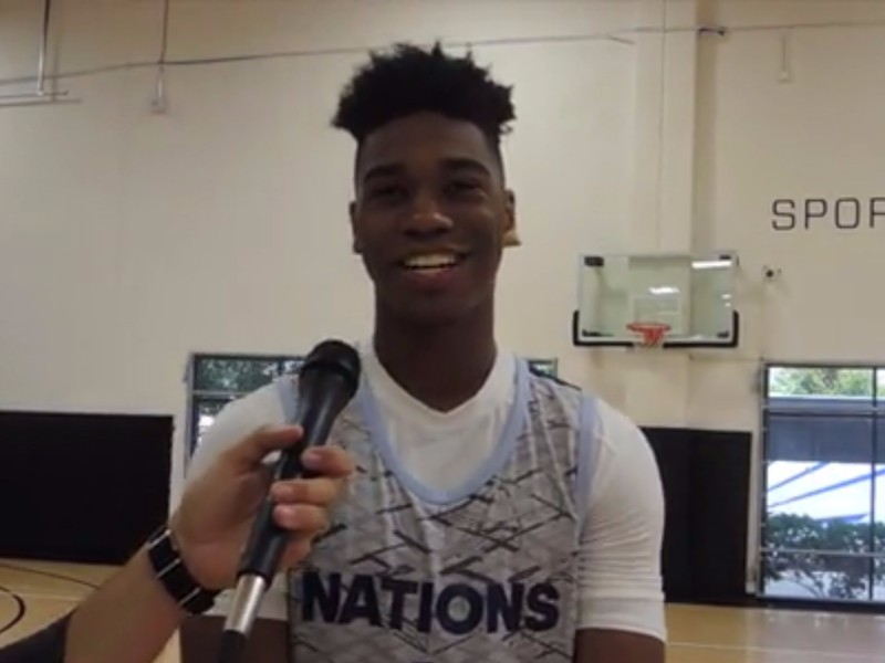 adidas Nations Training Camp Interview: A.J. Reeves