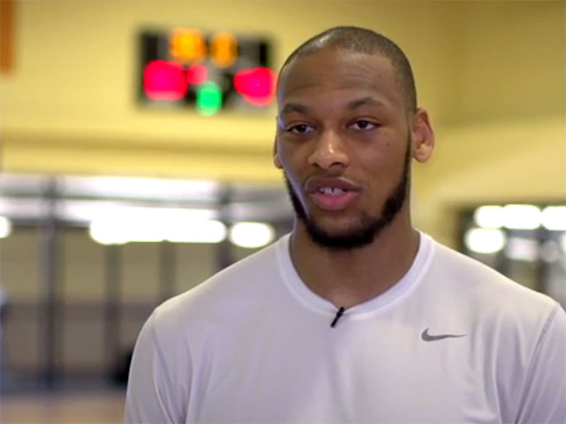 Adreian Payne 2014 NBA Pre-Draft Workout and Interview Video