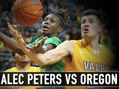 Matchup Video: Alec Peters vs Oregon