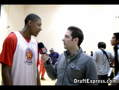 McDonald's All American Game Interviews/Practice Highlights, Part Two