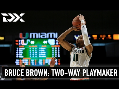 Bruce Brown - Miami's Two-Way Playmaker
