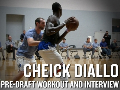 Cheick Diallo NBA Pro Day Workout and Interview