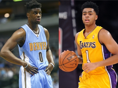 D'Angelo Russell vs Emmanuel Mudiay 2015-16 NBA Matchup Video