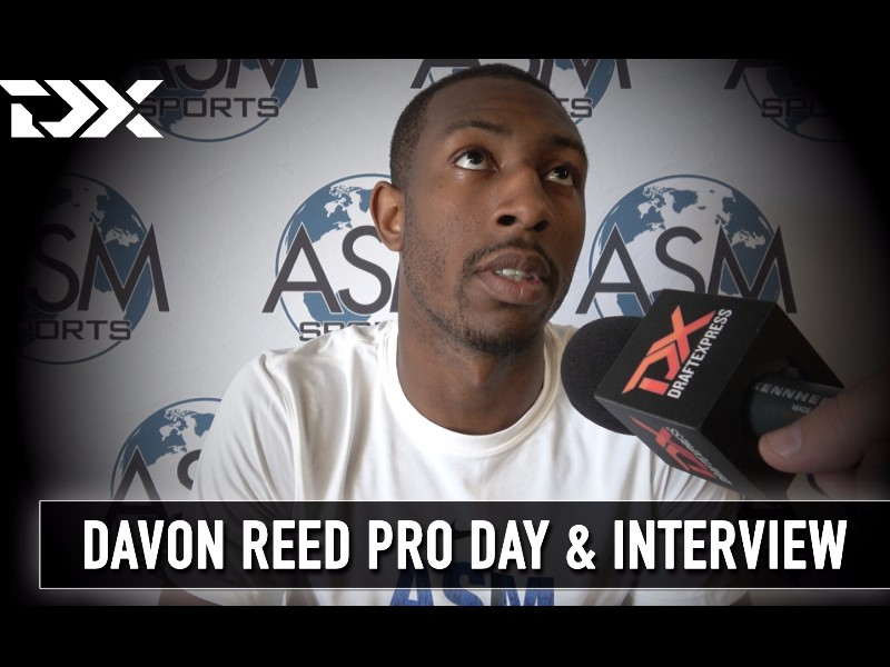 Davon Reed ASM Sports Pro Day Workout and Interview
