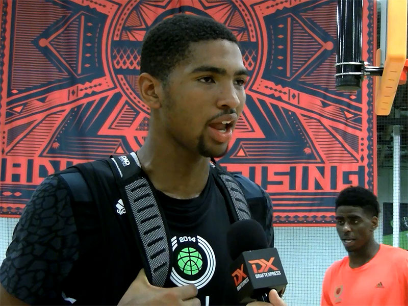 2014 adidas Nations Interview: Dedric Lawson