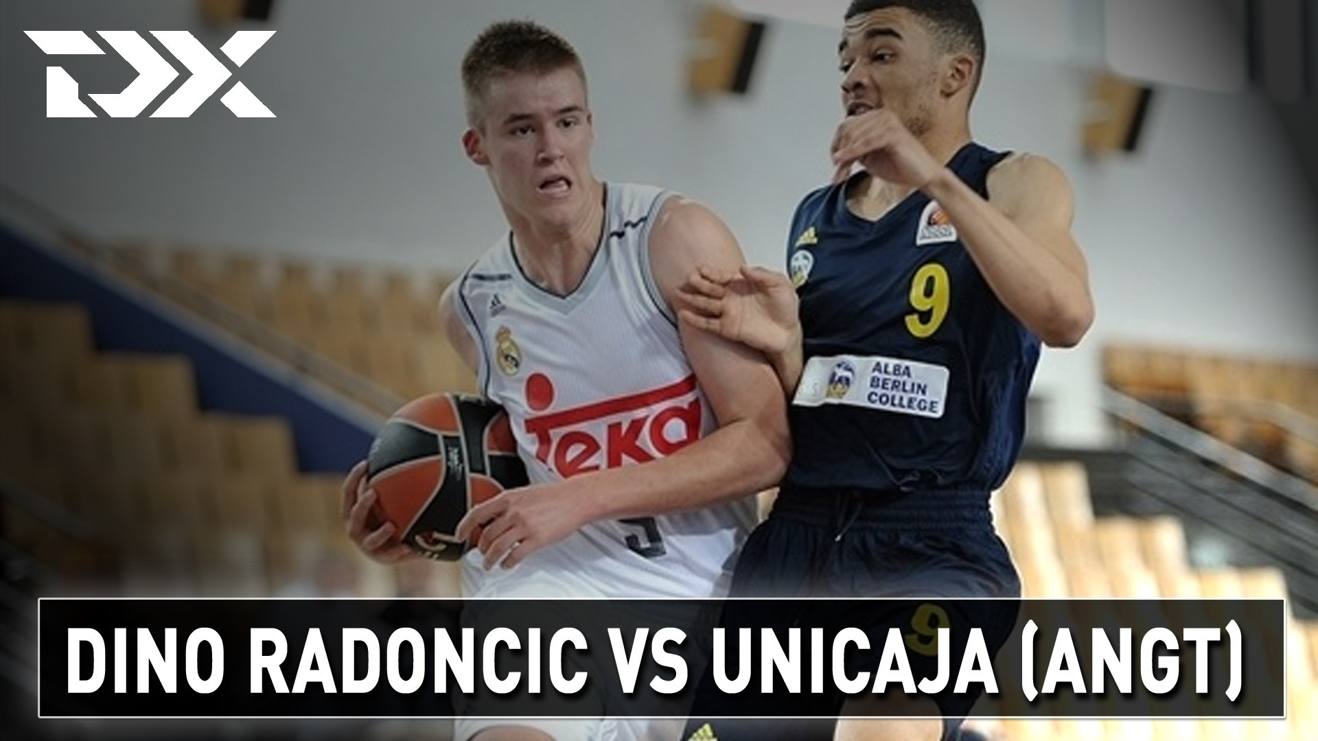 Dino Radoncic vs Unicaja Malaga U-18 - Matchup Video