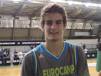 adidas Eurocamp Interview: Dragan Bender