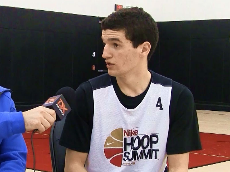 2015 Nike Hoop Summit Video Interview: Federico Mussini