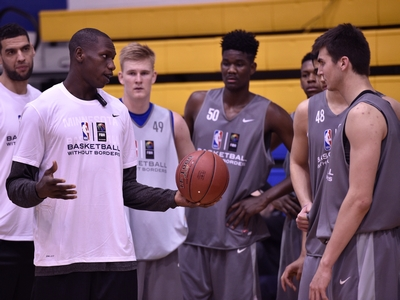 Basketball Without Borders Global Camp Evaluations: Centers