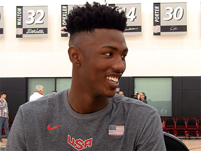 2016 Nike Hoop Summit Interviews: Harry Giles + Jonathan Isaac