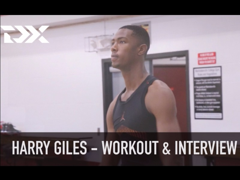 Harry Giles NBA Pre-Draft Workout and Interview