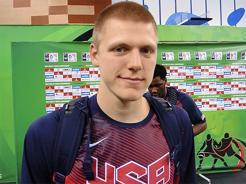 2014 U17 World Championship Interview: Henry Ellenson