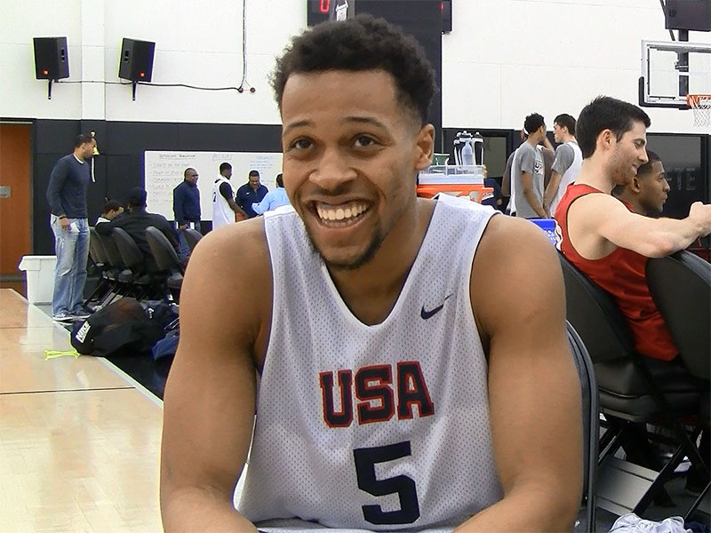 2015 Nike Hoop Summit Video Interview: Isaiah Briscoe