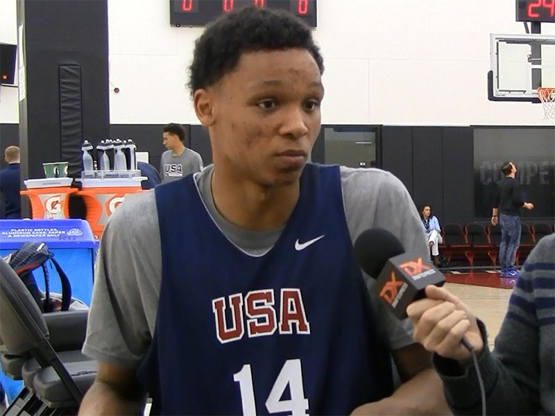 2015 Nike Hoop Summit Video Interview: Ivan Rabb