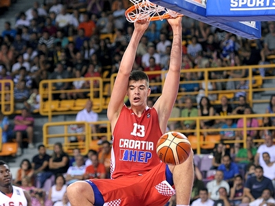 Ivica Zubac 2015 FIBA U19 World Championship Interview
