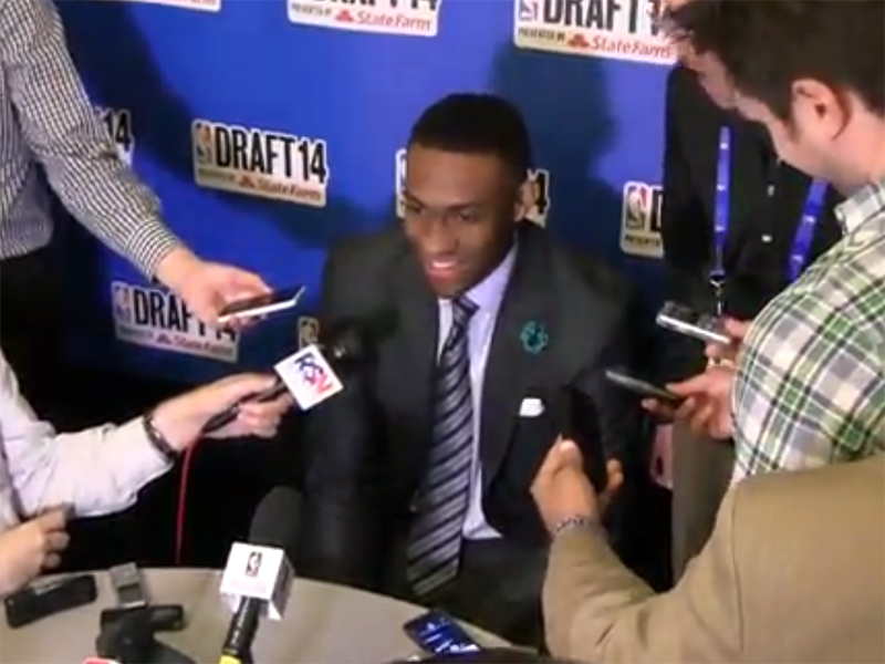 2014 NBA Draft Media Day Interivews: Parker, LaVine, Payne