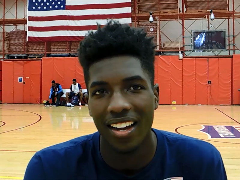 2014 USA Basketball Development Camp Interview: Jalek Felton