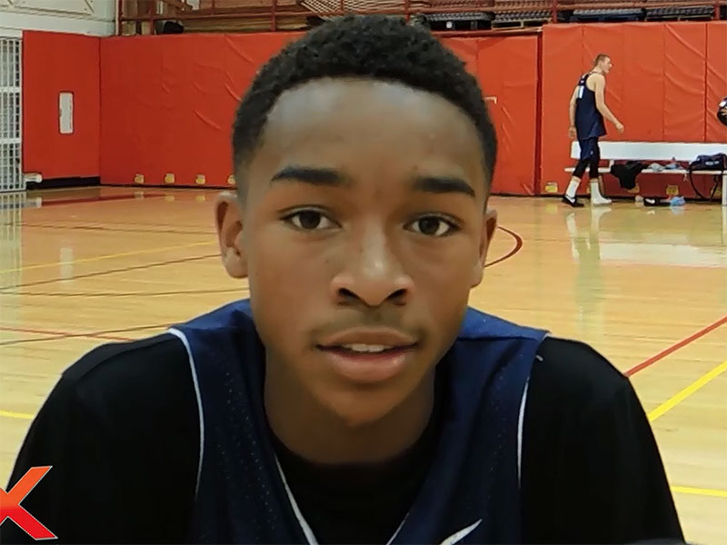 2014 USA Basketball Development Camp Interview: Jaylen Hands