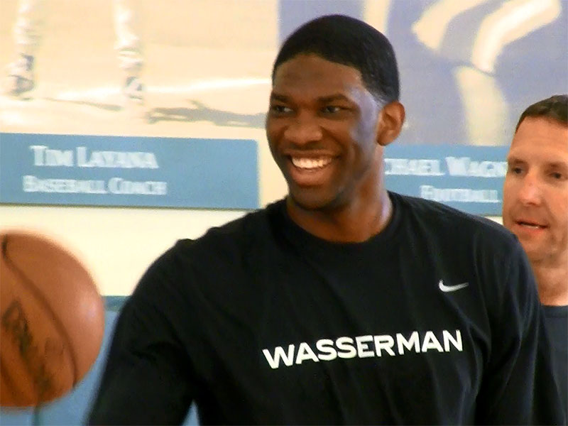 Joel Embiid 2014 NBA Pre-Draft Workout Video