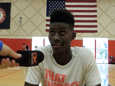 Jonathan Isaac USA Basketball Junior National Team Mini-Camp Interview