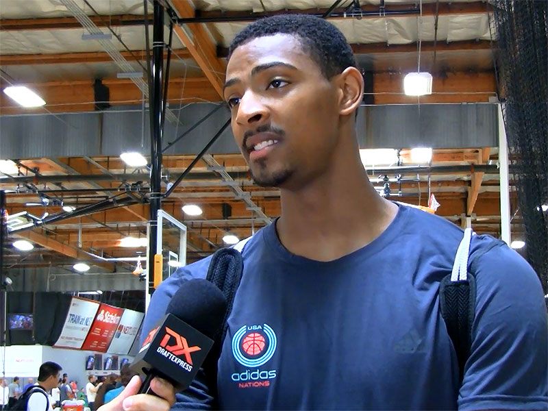 2014 adidas Nations Interview: Jordan Mickey