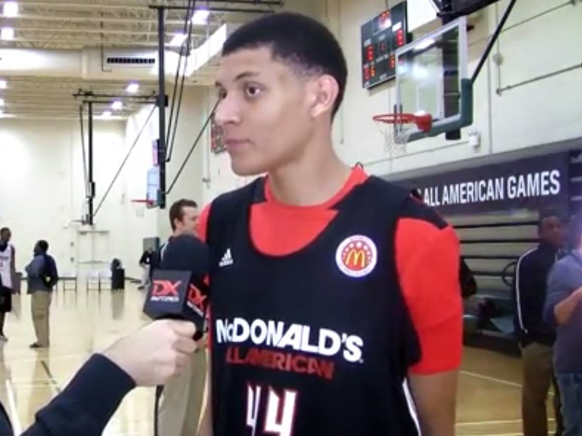 2014 McDonald's Video Interviews: Justin Jackson and Devin Booker