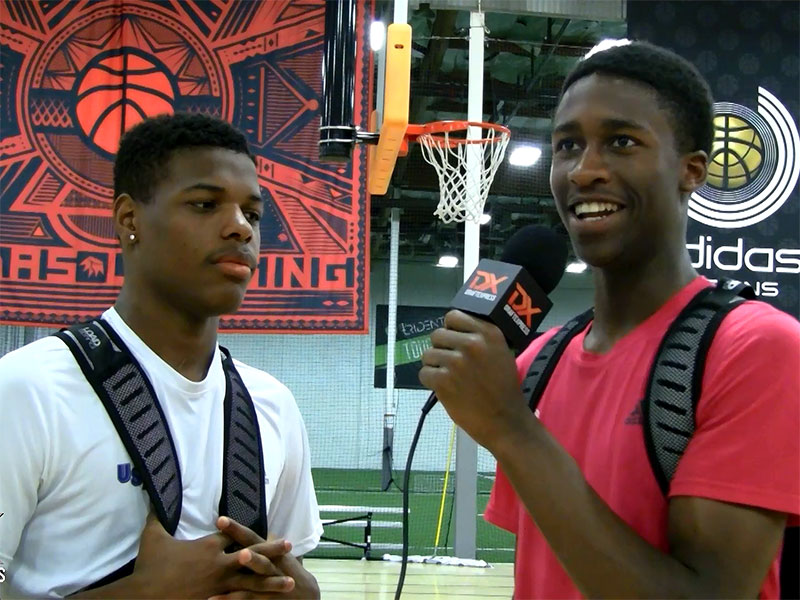 2014 adidas Nations Interview: Dennis Smith with Kobi Simmons