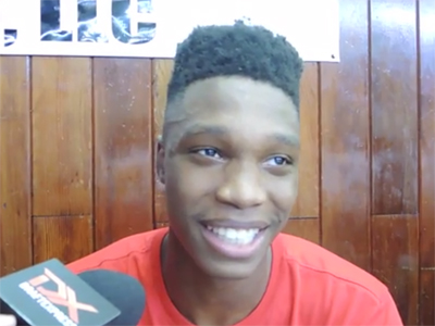 Lonnie Walker 2015 Big Strick Classic Interview