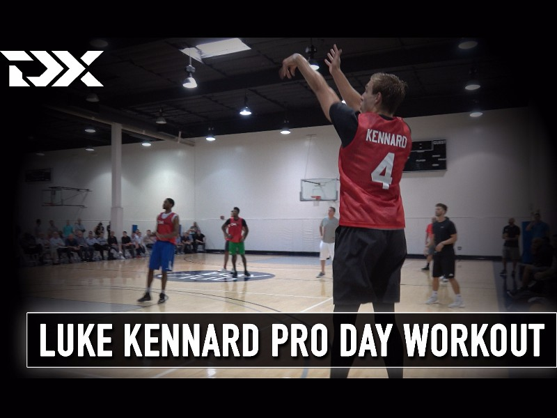 Luke Kennard CAA Sports Pro Day Workout