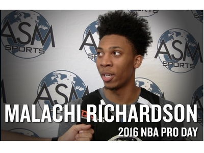Malachi Richardson Interview and Highlights from ASM Sports Pro Day