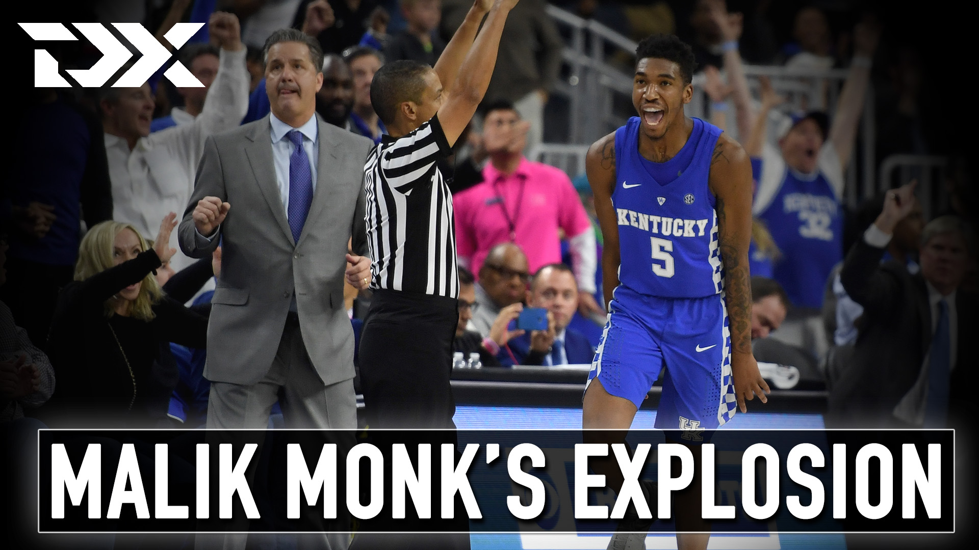 Malik Monk - 47-Point Explosion vs UNC