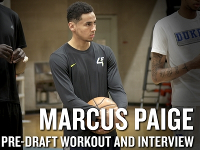 Marcus Paige 2016 NBA Pre-Draft Workout Video and Interview