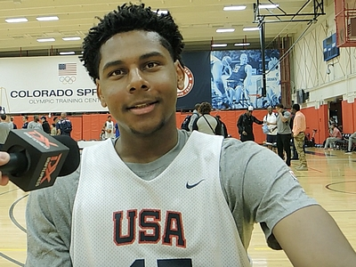 Marques Bolden USA Basketball Junior National Team Mini-Camp Interview