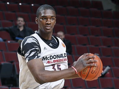 McDonald's Interview/Practice Highlights: Vonleh, Jefferson, Martin