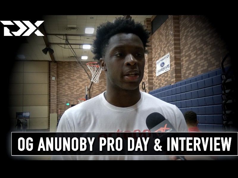 OG Anunoby Pro Day Workout Video and Interview