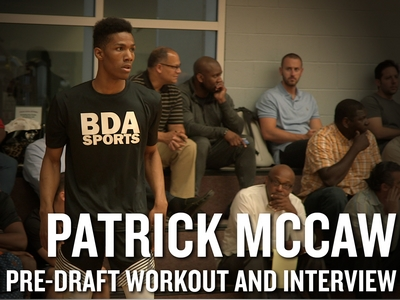 Patrick McCaw NBA Pro Day Workout and Interview