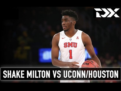 Shake Milton vs UConn and Houston