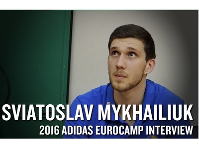 Sviatoslav Mykhailiuk 2016 Adidas Eurocamp Interview and Highlights