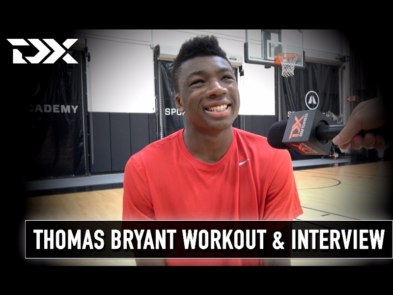 Thomas Bryant NBA Pre-Draft Workout and Interview