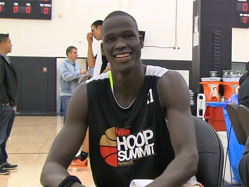 2015 Nike Hoop Summit Video Interview: Thon Maker