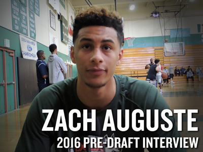 Zach Auguste NBA Pro Day Interview