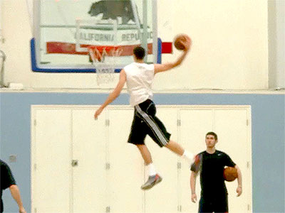Zach LaVine 2014 NBA Pre-Draft Workout and Interview Video