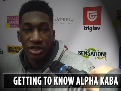 Getting to Know: Alpha Kaba