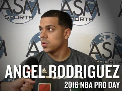 Angel Rodrgiuez Interview from ASM Sports Pro Day