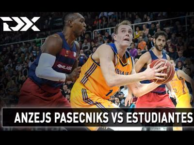 Anzejs Pasecniks vs Estudiantes Matchup Video