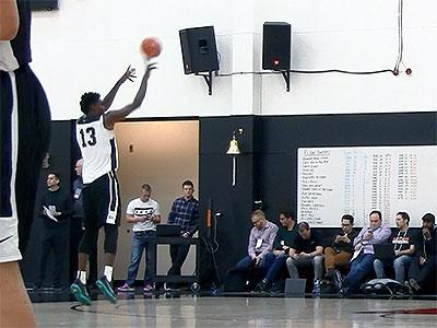 2016 Nike Hoops Summit Shooting Drills: Ayton and Cordinier