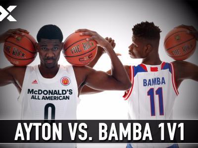 Matchup Video: DeAndre Ayton vs. Mohamed Bamba One on One Post Drills