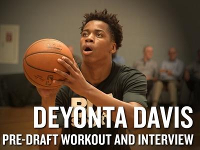 Deyonta Davis 2016 NBA Pre-Draft Workout Video and Interview