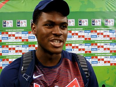 2014 U17 World Championship Interview: Diamond Stone