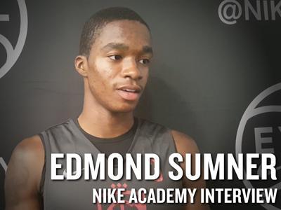 2016 Nike Academy Interviews: Edmond Sumner, John Motley, Alec Peters